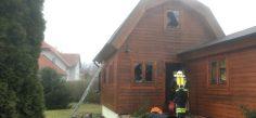 Hausbrand in Sitzendorf