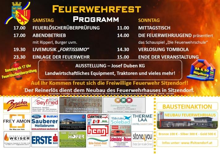 Feuerwehrfest 2017 Rückseite