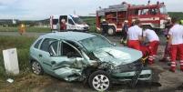 Verkehrsunfall von Sitzendorf in Richtung Niederschleinz